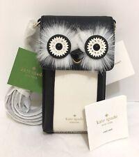 New Kate Spade Leather Penguin iPhone crossbody iPhone Bag Wallet 8ARU6004