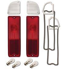 1967-72 Chevy Truck Taillamp & Backup Lens Kit - Fleetside/Blazer