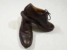 Cole Haan Lunargrand Lunarlon Brown Brogue Oxford Dress Shoes 11.5 M