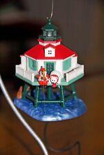 HALLMARK Ornament/2014/Holiday Lighthouse//Full-Sized/Needs Magic Cord/NIB