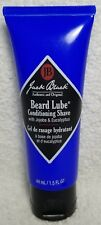 Jack Black BEARD LUBE Conditioning Shave w/ Jojoba Eucalyptus 1.5 oz/44mL New