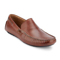 G.H. Bass & Co. Mens Walter Genuine Leather Casual Driver Slip-on Loafer Shoe