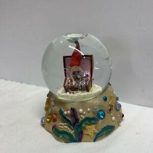 Disney Ariel Little Mermaid Snowglobe Vintage Era 2000s Snow Globe