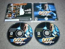 James Bond 007 Nightfire PC 2 CD-ROMs EA 2002 Electronic Arts Windows 98/Me/XP