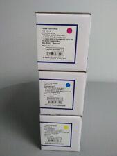 Katun Compatible For  Kyocera Toner Cartridge Set Of 3TK-592Y, TK-592C, TK-592M