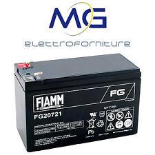 FIAMM FG20721 Batteria al piombo ermetica ricaricabile 12V 7.2Ah