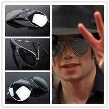 Punk MenMJ Michael Jackson Military Classic Frog Silver Drive Mirror sunglasses