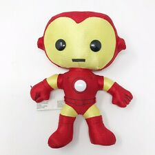 "Funko Plushies 2011 Marvel Avengers Iron Man Red Gold Super Hero 7"" Plush Toy"