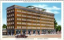 SAVANNAH, Georgia  GA   JOHN WESLEY HOTEL Congress & Abercorn Streets   Postcard