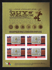 Canada -Pane of 4 (Half of Booklet) -Calgary Stampede, Belt Buckle #2548 -MNH