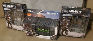 Call of Duty Mega Construx Lot. 2 Assault Weapon Crates..1 Solo Infantry Armory