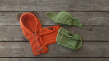 Newborn 3-6 months crochet Baby Ewok and Yoda set Photo Costume Shoot Handmade