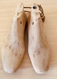 1 Paar Schuhleisten Gr. 37, Leisten Schuhmacher FILZEN, Holzleisten