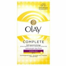Olay 3 in 1 Lightweight Daily Moisturiser Fluid For Normal To Oily SPF 15 100ml