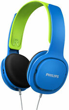 Philips SHK2000BL Kids Safe 85db Volume Limited Headband Headphones for DVD iPad