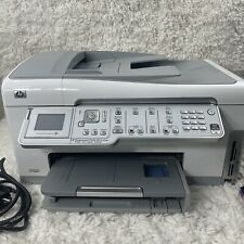 HP Photosmart C7250 All-in-one Color Inkjet Printer w/ Power Cord, Ink And Box!