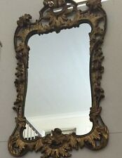 Large French Style Ornate Gild  Mirror, size 85 x 48 cm