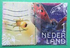 Nederland Insecten / Insekten paar doorloper 4 uit 2018 gestempeld