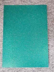 Pack of 5 A4 Glitter Card Sparkly Arts Crafts Scrapbook