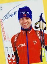 Ole Einar Björndalen (9) Autograph Picture Large Format 15 x 21 + Ski AK FREE