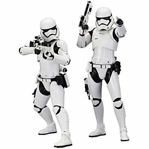 Star Wars First Order Stormtrooper The Force Awakens ArtFX+Statue 2-Pack