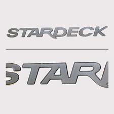"STARCRAFT BOAT DECAL VINTAGE STYLE CAMPER RV MARINE FISHING 9/""X3/"" STICKER"