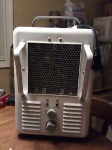 TPI Model 188T-ASA 1500W Portable Heater 188TASA Milk House Style White