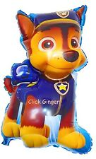 Paw Patrol Chase Supersize Dog Shape Foil Balloon Party Decoration