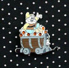 Disney Pin Snow White Seven Dwarfs Jeweled Mine Car Mystery Happy Free Shipping