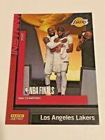 2019-20 Panini Instant Basketball Los Angeles Lakers Set #27 - Lebron & AD