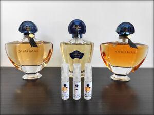 Guerlain Shalimar Parfum / Toilette / Cologne 2 ml Sample Decant Powdery Women