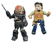 Predators Royce vs. Berserker Predator Pack Minimates Series 2 Diamond