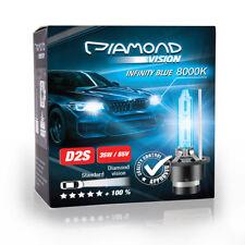 2X D2S 8000K 35W Diamond Vision HID Xenon Brenner Abblendlicht Fernlicht Lampe
