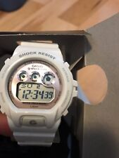 Mens Ladies Kids Casio Mini G-Shock White Rubber Chronograph Watch GMDS6900SM