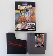 ✅ Nintendo NES/Castlevania III Dracula's Curse/juego con embalaje original/RAR!/# G