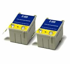 2x Colour Compatible (non-OEM) Ink Cartridges to replace T009