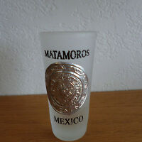 """Matamoros Mexico Souvenir Shot Glass    3"""""""
