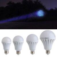 LED Smart Bulb Emergency Light E27 5W 7W 9W 12W Flashlight Lamps Energy Saving