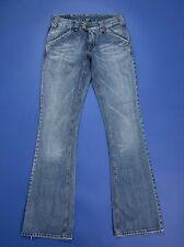 7f0110be91ad Met karma jeans bootcut donna usato zampa flared W27 tg 41 denim boyfriend  T4880