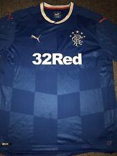 Rangers Home Shirt 2016/18 2X-Large Rare