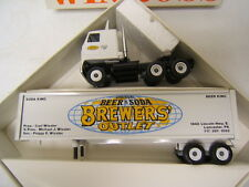 Winross Brewers' Outlet Lancaster PA Tractor Trailer 1/64 Diecast MIB