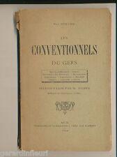 Paul BENETRIX  Les CONVENTIONNELS du GERS . 1894