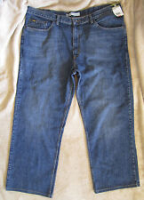 NWT Lee Premium Select Relaxed Straight Leg Jeans Calypso Wash Men's 42 X 30*