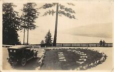 F75/ Vancouver British Columbia Canada RPPC Postcard Prospect Park Auto