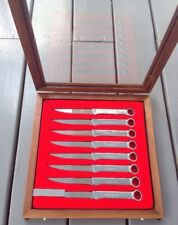 Snap On Tools Collectable Wrench Handle Knife Set Award 8pc VERY LIMITED RARE