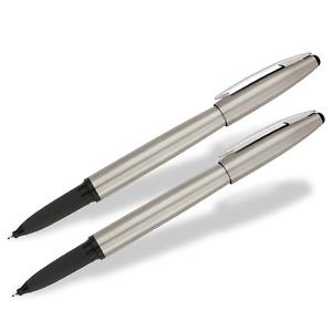 2 Pack - Sharpie Stainless Steel Pen Fine Point Black Tip