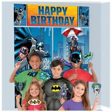 Batman Scene Setter w/ Props ~ Birthday Party Supplies Decoration Plastic Comics