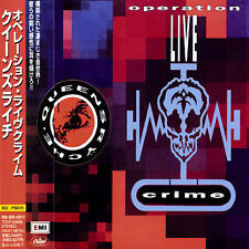 QUEENSRYCHE Operation LIVE crime JAPAN Bonus Tracks - SEALED has case fractures
