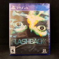 Flashback (PS4 / PlayStation 4) BRAND NEW / Region Free