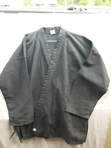 Century Martial Arts Karate Gi Top Size 5 Adult L  Preowned, Black